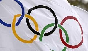 Олимпийский штандарт в Отрадной