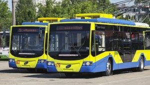 В Краснодар прибыла первая партия новых троллейбусов