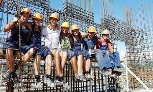 Летний трудовой семестр стройотрядов РЖД в Сочи открыт
