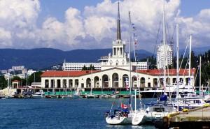 Морской порт Сочи откроют после реконструкции в декабре 2013 года