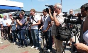 Пресс-тур на таможенный пост в Темрюкском районе