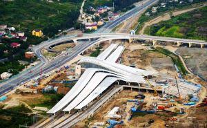 Строительство вокзала «Олимпийский парк» подходит к концу