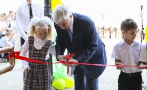 Владимир Евланов открыл новый образовательный комплекс «Немецкая  деревня»