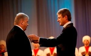 Губернатор края наградил 13 жителей Кубани за заслуги перед Отечеством