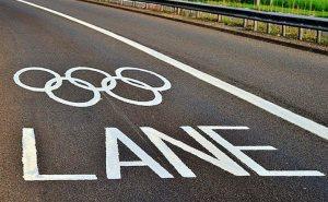 За нарушение олимпийских правил движения штраф 5 тыс. рублей