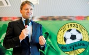 Интервью губернатора Краснодарского края по поводу развития футбола