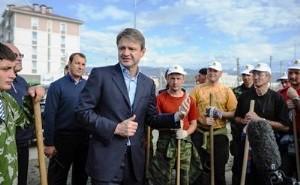 Глава Кубани оценил готовность Олимпийского парка к сочинским Играм 2014