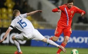 В Краснодаре российская молодёжная футбольная команда смогла победить команду Эстонии