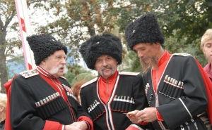В Краснодаре прошёл сбор Кубанского казачьего войска