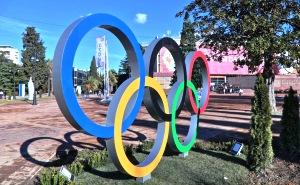 Олимпийские кольца теперь и в Адлере