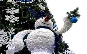 В Краснодаре прошло торжественное открытие главной городской елки