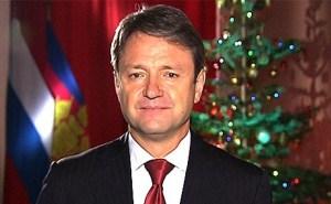 Александр Ткачев поздравил всех с наступающим Новым годом