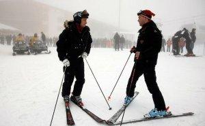 Президент РФ покорил несколько горнолыжных трасс в Олимпийской столице