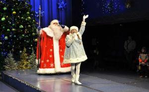 Краснодарским детям было показано новогоднее представление олимпийской направленности