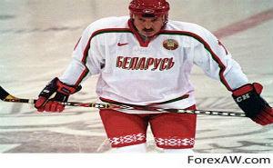 Президенты Белоруссии и России совместно сыграли в ледовом дворце в хоккей