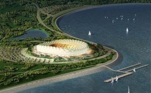 В административном центре Кубани без госбюджета строят футбольный стадион