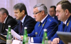 Александр Ткачев поздравил всех сотрудников прокуратуры с очередной годовщиной