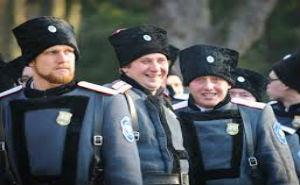 Казаки приступили к олимпийской службе в Сочи