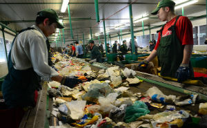 В мусороперерабатывающем сочинском заводе установлено новое оборудование