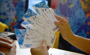 В Сочи начался третий этап реализации олимпийских билетов