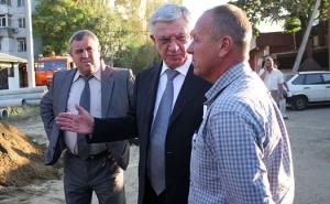 Владимир Евланов проверил некоторые объекты в Центральном округе города Краснодара
