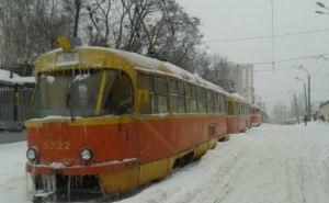 В Краснодаре работы  по восстановлению движения трамваев проводились целую ночь