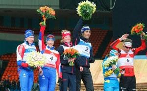 Репетиции Цветочных церемоний награждения олимпийских чемпионов уже начались