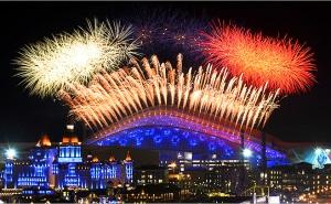 За официальным открытием Олимпиады в Сочи следили 3 миллиарда человек