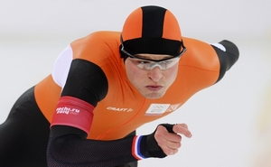 Свен Крамер установил новый олимпийский рекорд