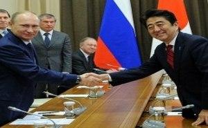 Лидеры России и Японии провели встречу в Сочи