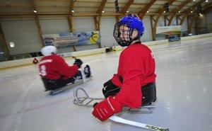 Российская сборная по следж-хоккею готовится сыграть в финале Паралимпиады