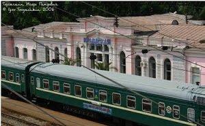 Крым, в обход Украины, через Краснодарский край организует железнодорожное сообщение с Россией