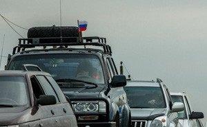 На Керченской переправе опять проблемы: россияне возвращаются из Крыма домой