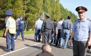 Родственниками убитого Тимура Ашинова была перекрыта федеральная трасса на въезде в Краснодар