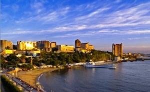 Природная красота достопримечательностей Владивостока