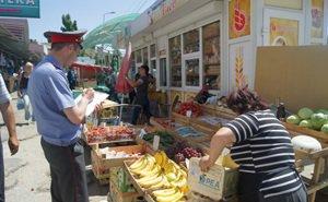 В Краснодаре в самом разгаре борьба с несанкционированной торговлей