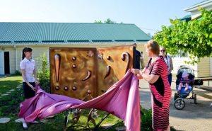В станице Азовская Краснодарского края был установлен первый в мире памятник знакам препинания