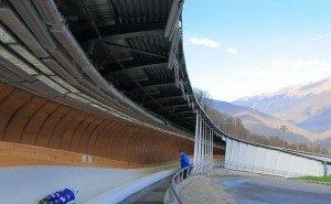 Российская сборная по бобслею начинает тренировки на олимпийском треке