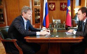 Александр Ткачёв обсудил проблемы развития Кавказского района