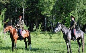 Охранять Кореновский район теперь будет конный казачий патруль