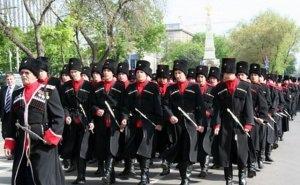 Владимир Евланов побывал на учениях казачьего войска