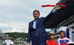 Александр Ткачёв и Ричард Креган официально открыли трассу