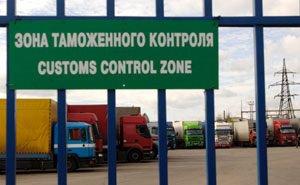 В Новороссийске таможенники проводят досмотр груза, не вскрывая контейнер