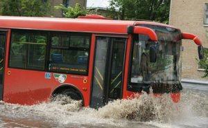 Непогода вызвала в Краснодаре 9-бальный затор