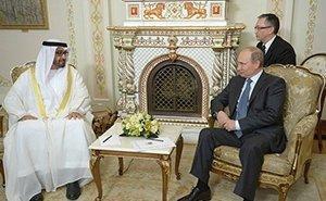 В Сочи прошла встреча Владимира Путина с шейхом эмирата Абу-Даби