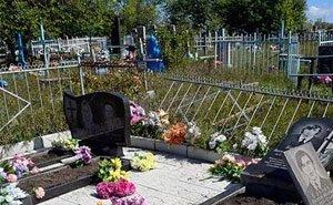 На кладбище в Динском районе орудуют вандалы