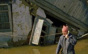 Ейский район вновь оказался под угрозой катастрофического наводнения