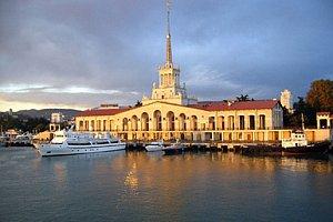 В Сочи открыли морской вокзал
