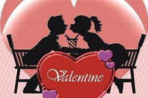 Моя вторая половина, с днем святого Валентина!