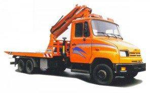 В Сочи начали работать грузовые эвакуаторы